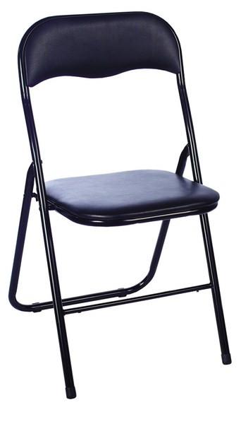 Levně Casarredo Kovová čalouněná židle TIPO černá