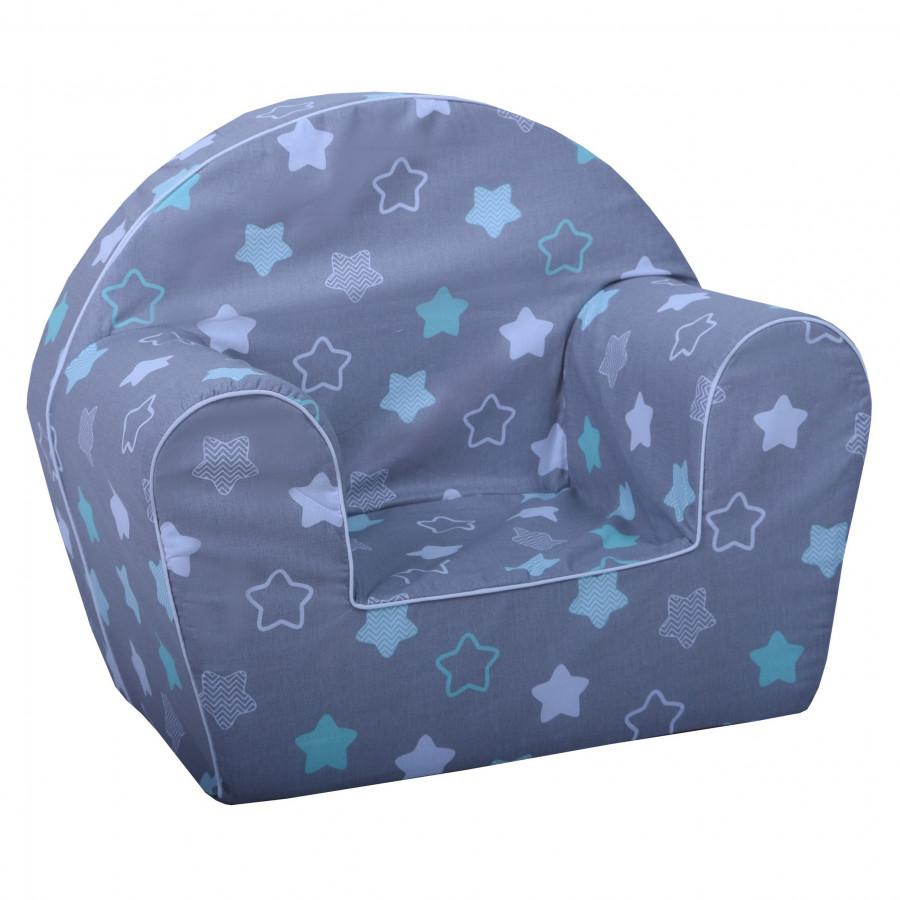 Fimex Dětské křesílko hvězdy - mátové DKFI0033