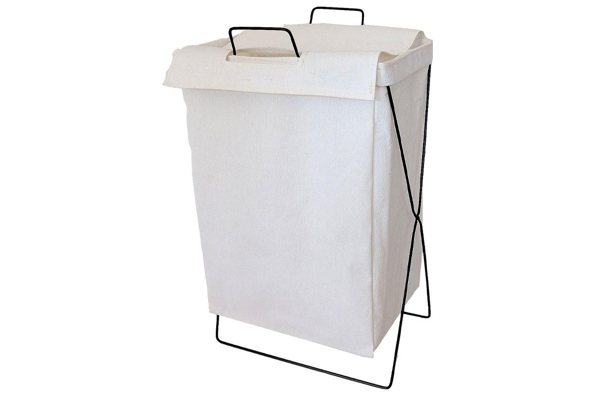 Autronic Koš na prádlo plátěný DD3123 - bílý