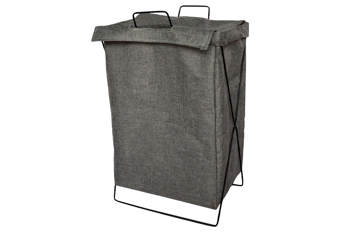 Autronic Koš na prádlo plátěný šedý DD3122