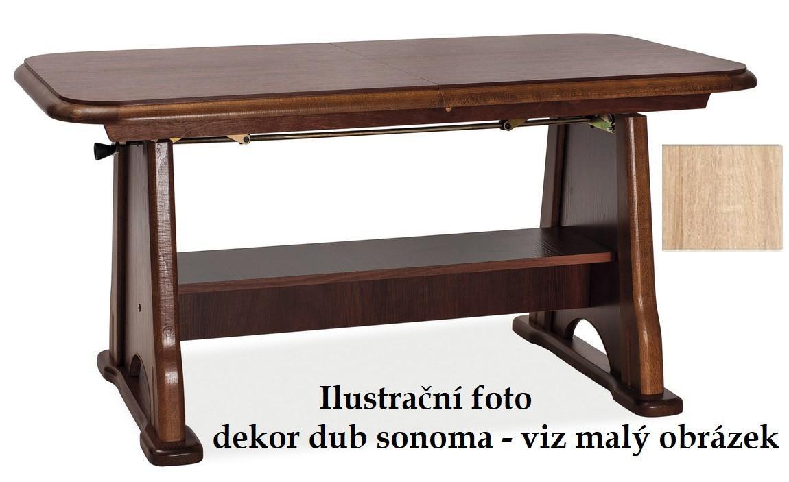 Casarredo Jídelní/konferenční stůl BEATA rozkládací - dub sonoma