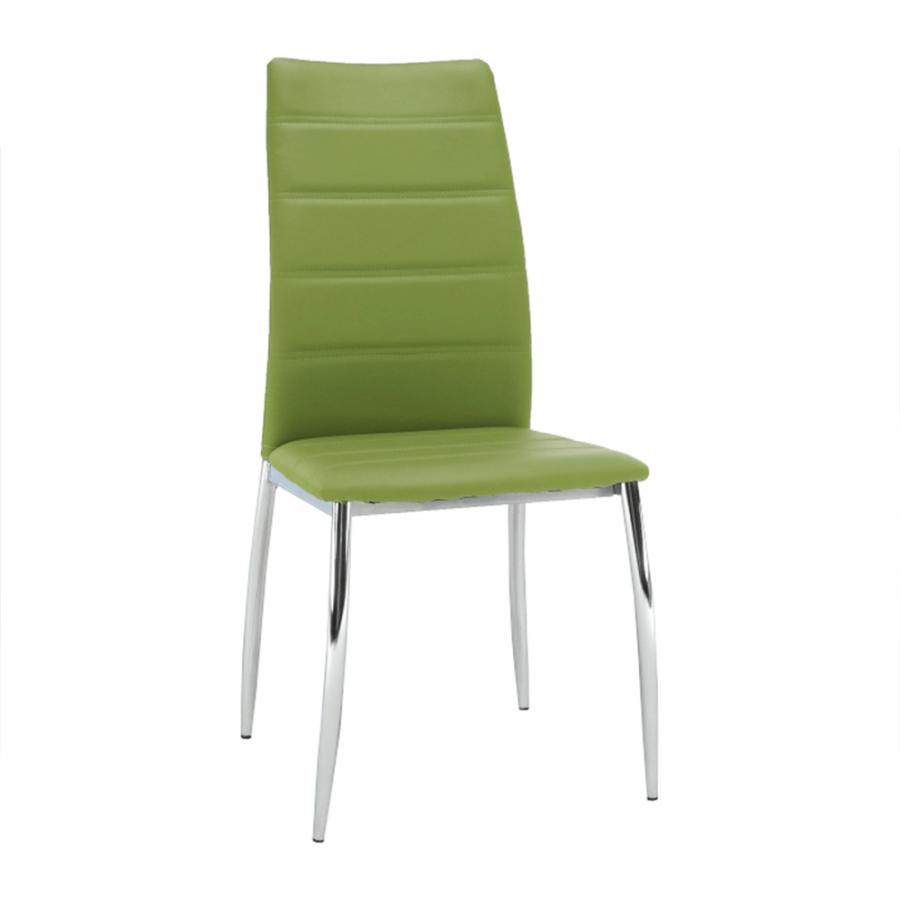 Tempo Kondela Jídelní židle DELA - zelená + kupón KONDELA10 na okamžitou slevu 3% (kupón uplatníte v košíku)