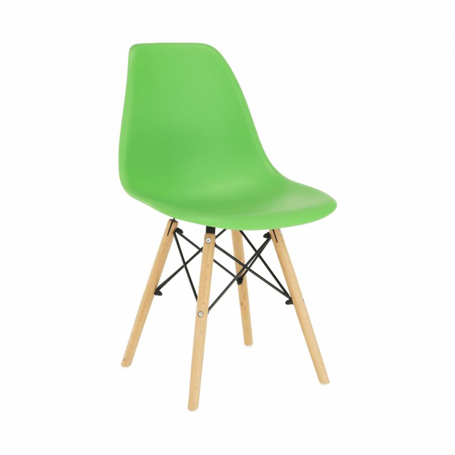 Tempo Kondela Židle CINKLA 3 NEW - zelená / buk + kupón KONDELA10 na okamžitou slevu 3% (kupón uplatníte v košíku)