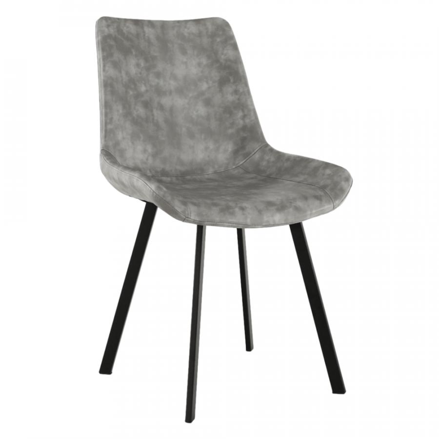 Tempo Kondela Jídelní židle NIRO - šedá + kupón KONDELA10 na okamžitou slevu 3% (kupón uplatníte v košíku)