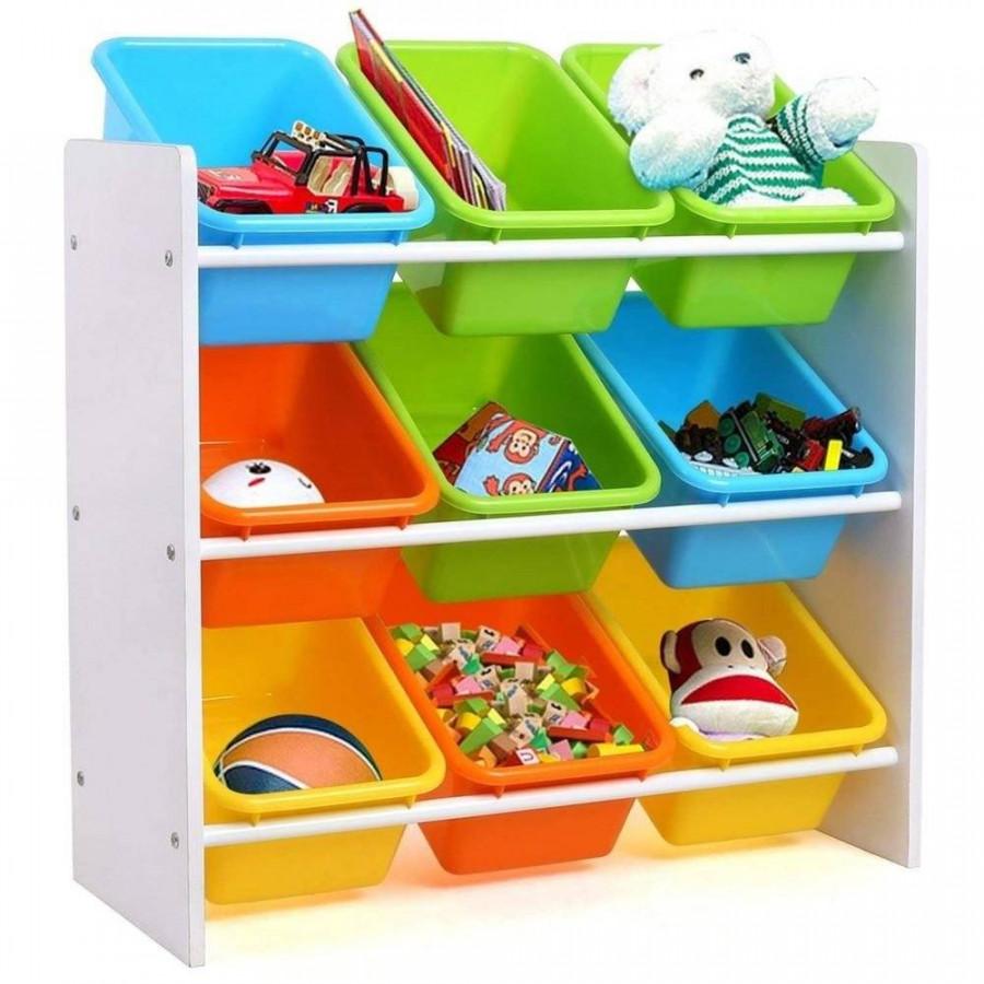 bHome Organizér na hračky Multicolor UBBH0576