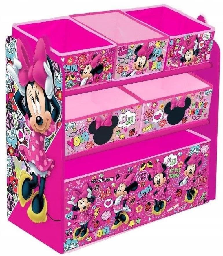 Arditex Organizér na hračky Myška Minnie - růžová UBAR0590
