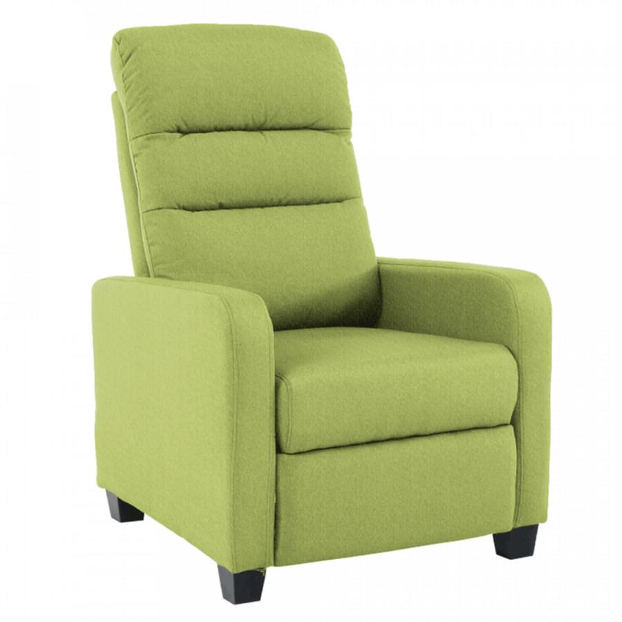 Tempo Kondela Relaxační křeslo TURNER - zelené + kupón KONDELA10 na okamžitou slevu 3% (kupón uplatn