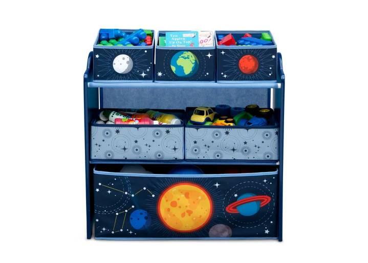 bHome Organizér na hračky Vesmír UBBH0592