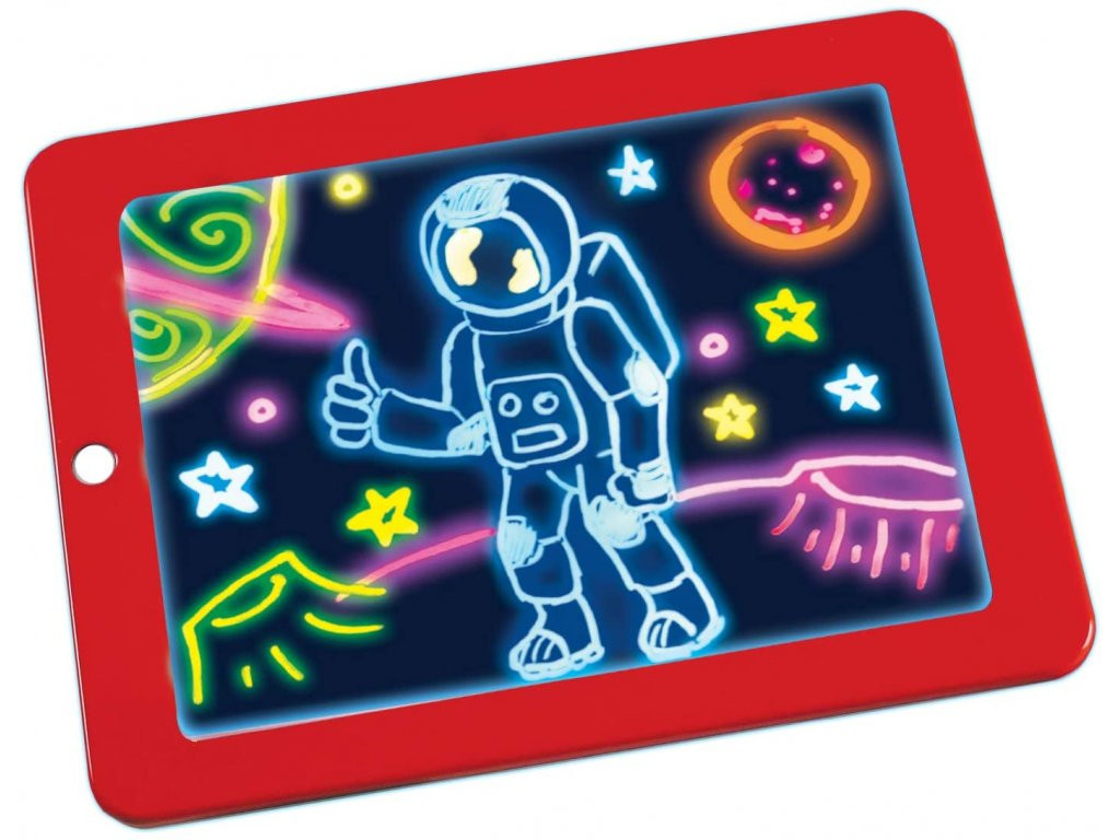 bHome Magická kreslící tabulka - červená TABH0540